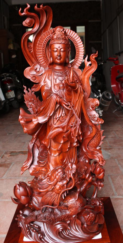 The Dragon Head Guanyin